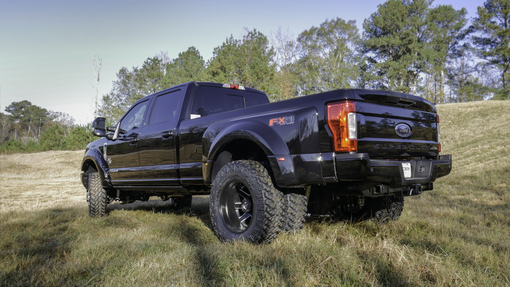 Ford F350 Dually Black Rear Qtr.jpg