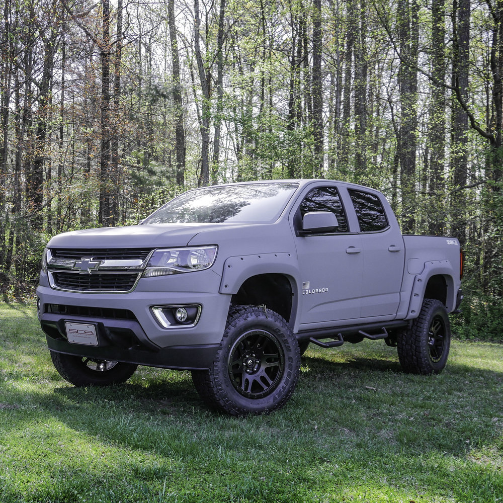 SCA Armed Forces Edition Chevy Colorado