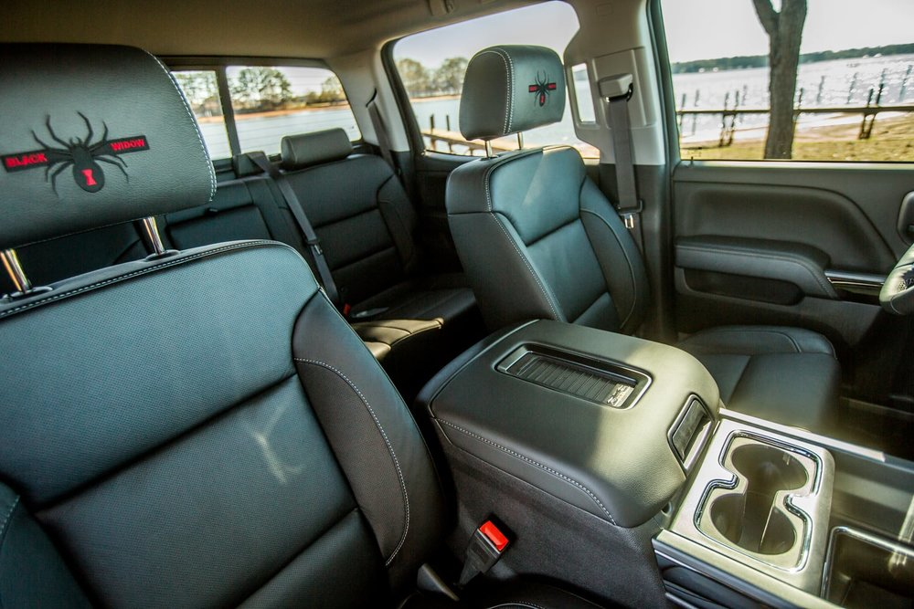 SCA GMC Black Widow Headrests