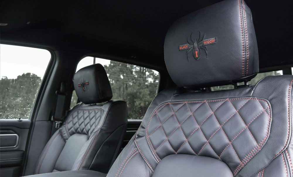 2019 Ram Black Widow Red Interior.jpg
