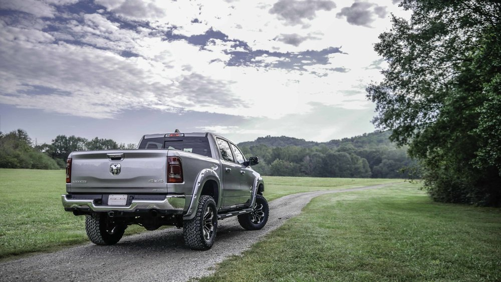 2019 Ram Black Widow Silver Rear.jpg