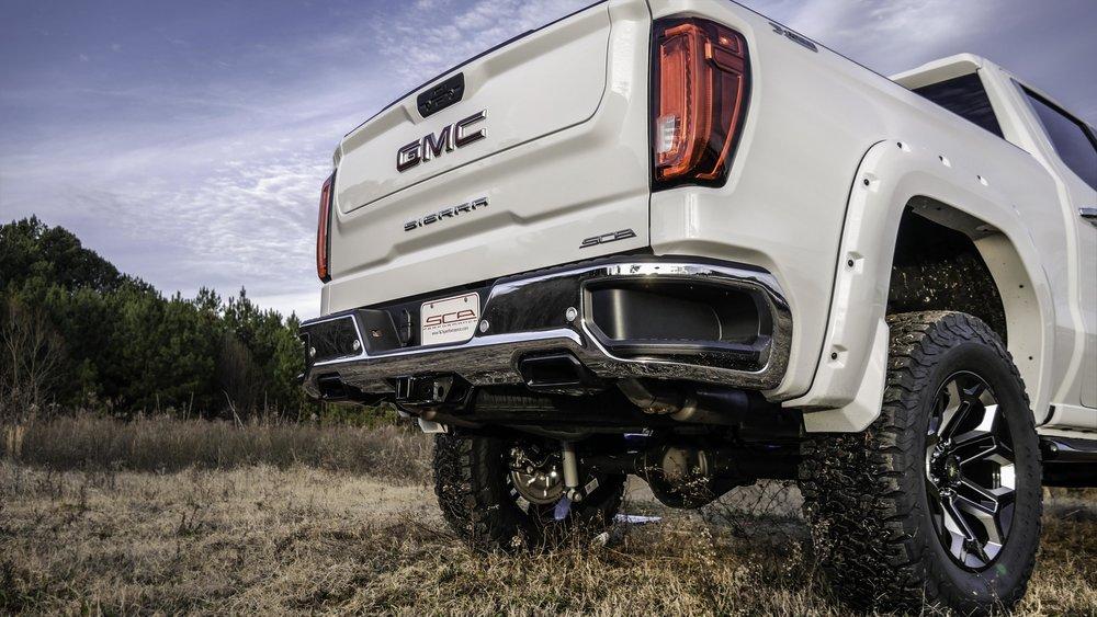 Gmc Black Widow Lifted Trucks Sca Performance Black Widow Lifted