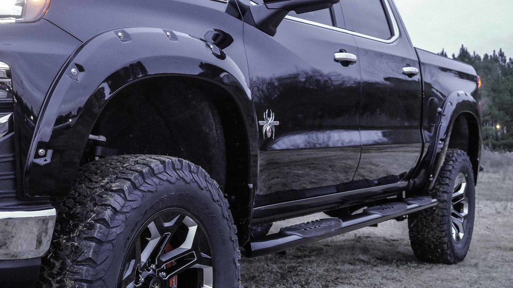 2019 Chevy Black Widow Flare Front Qtr Close.jpg