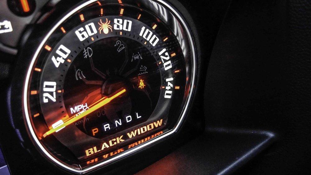 2019 Chevy Black Widow Gauges Close.jpg