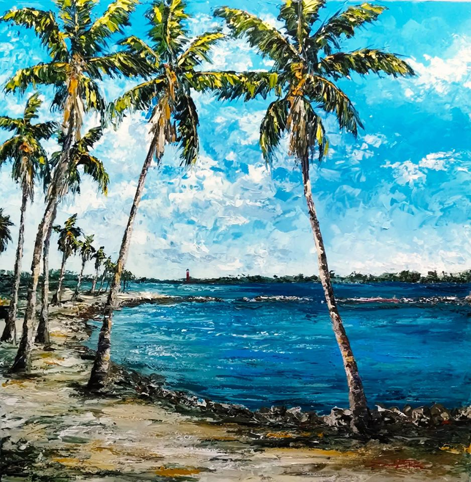 """Jupiter Inlet"" 40x40 - Current display in NPBC Chamber"