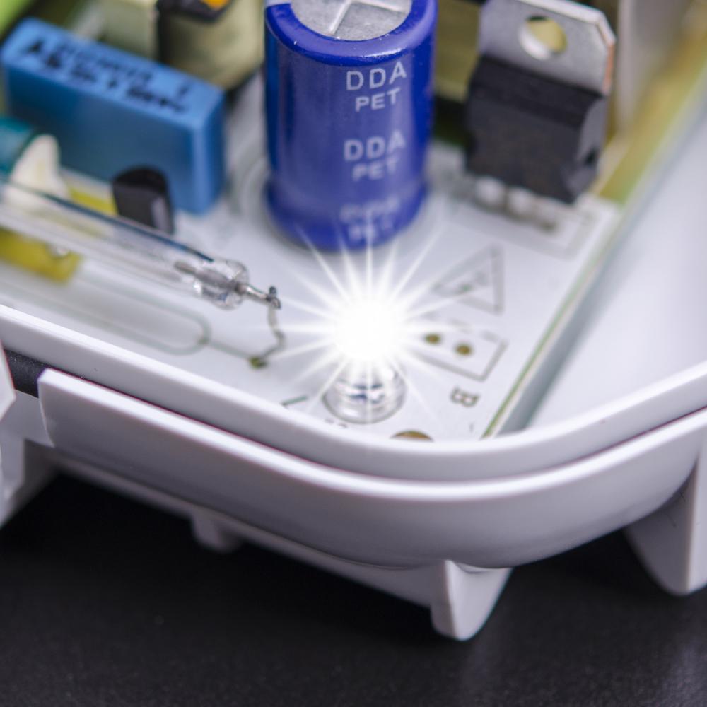 White comfort LEDs