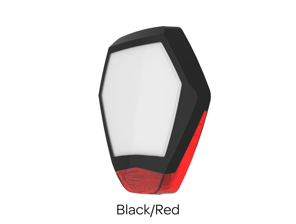 Odyssey X3 Cover Black/Red