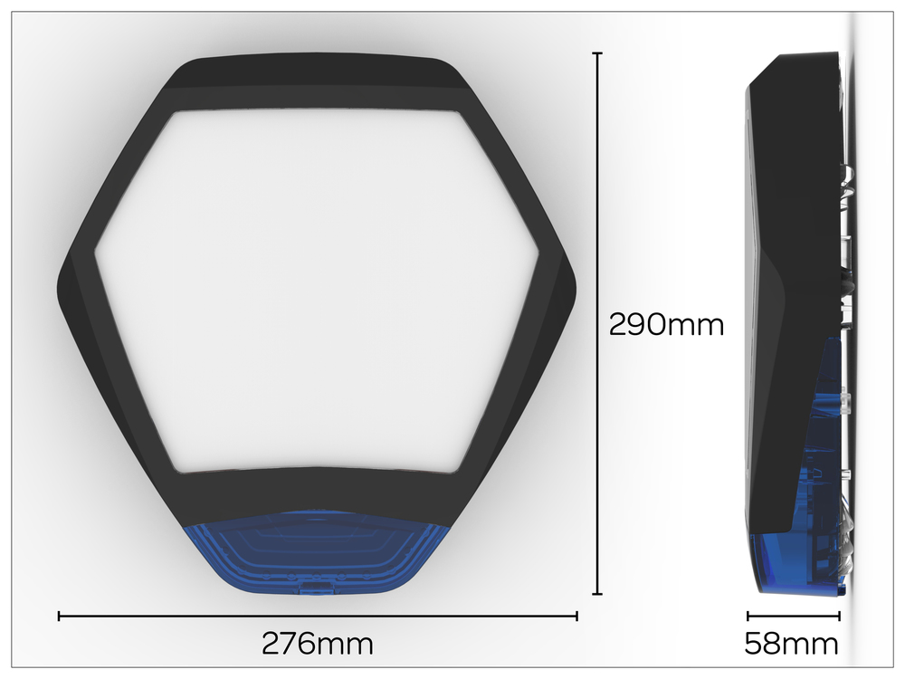 Odyssey X3 cover dimensions