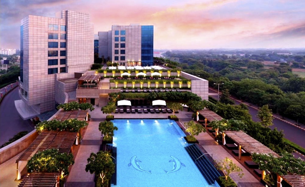 The Leela in Gurgaon (foto: The Leela)