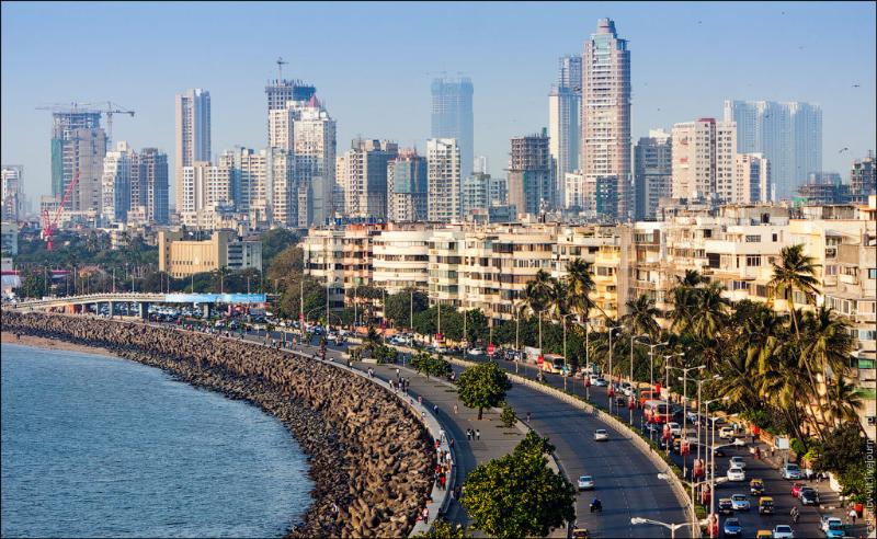 Marine Drive, Mumbai's beroemde boulevard