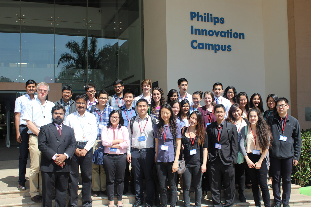 Jos van Haaren op de Philips Innovatie Campus in Bangalore (Foto: Berkeley - Haas)