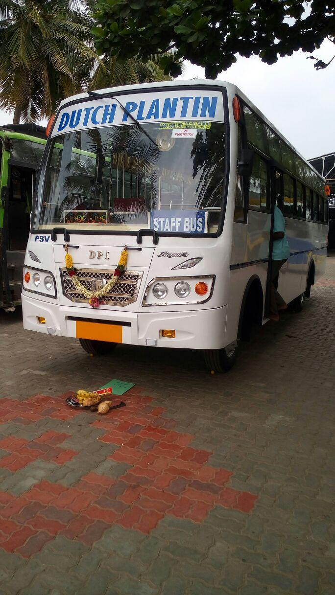 Dutch Plantin regelt het vervoer voor hun medewerkers (foto: Dutch Plantin)