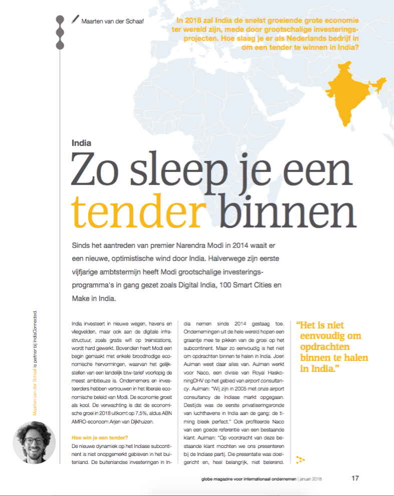 Zo sleep je een tender binnen in India (1)