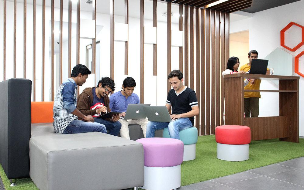 Kantoor van Decos in India (foto Decos)