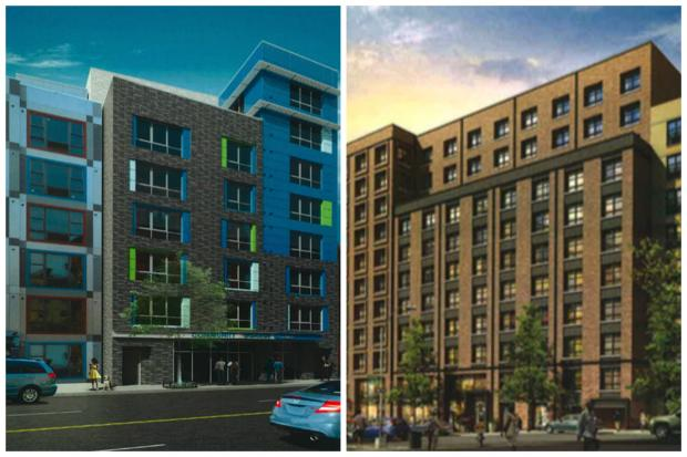 Diaz will fund several affordable housing units in his upcoming budget, including projects at 3363-3365 Third Ave. and at 1761 Walton Ave. (L-R)