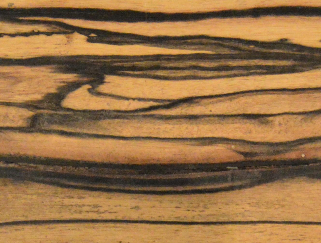 Working with ebony wood
