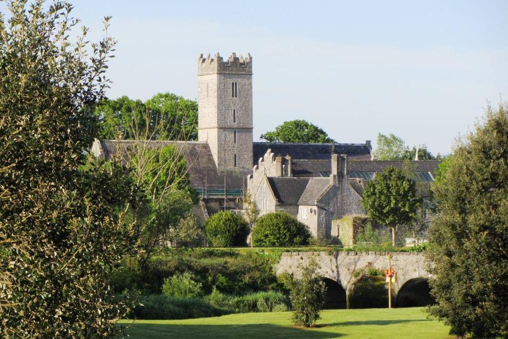 St. Nicholas Church and the bridge going into the village of Adare. Photo courtesy of Liz Burke.