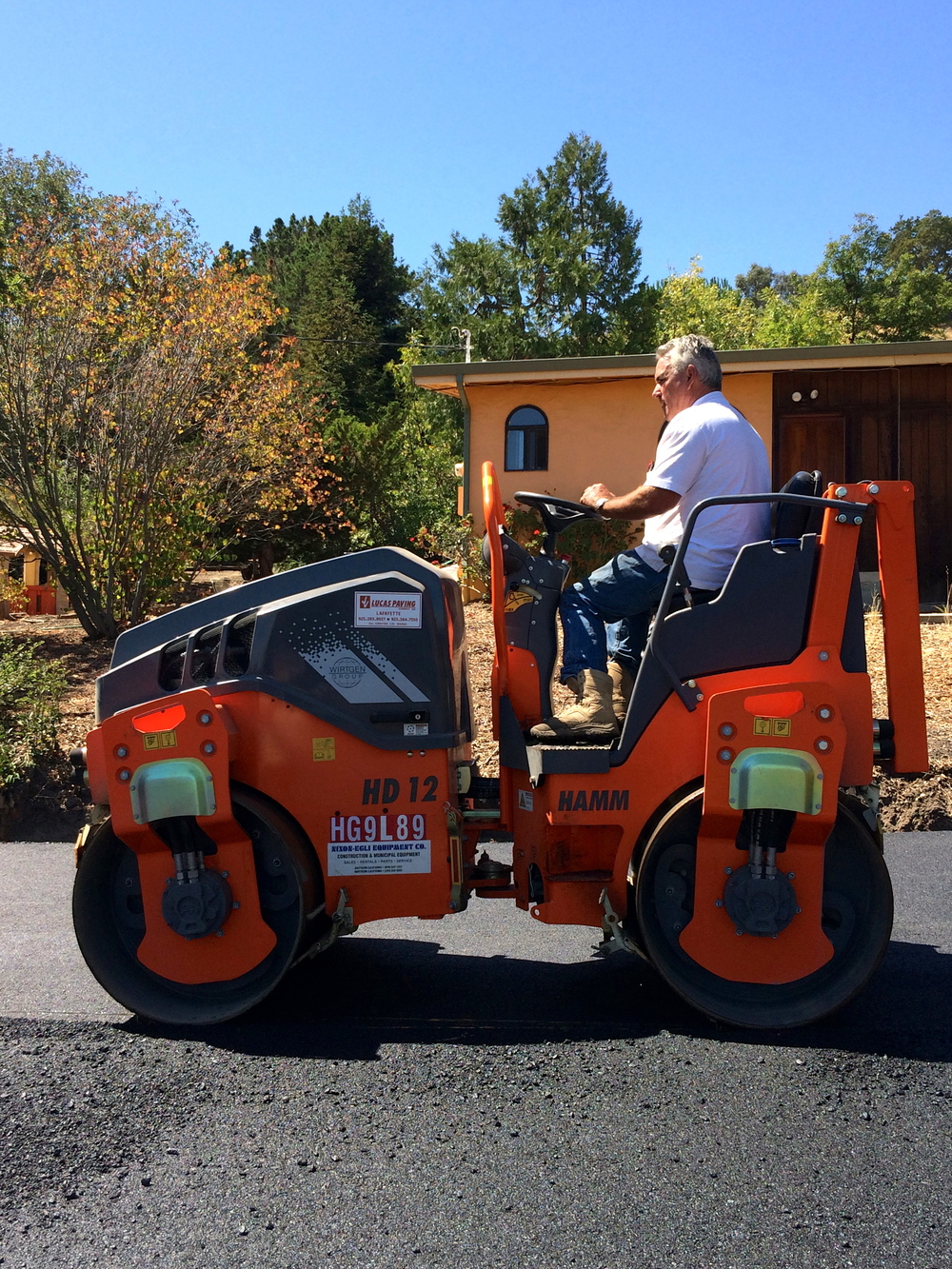 2014 HAMM HD12 Roller  (Tier 4)