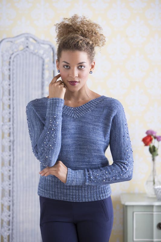 Branford Beaded Dolman Pullover