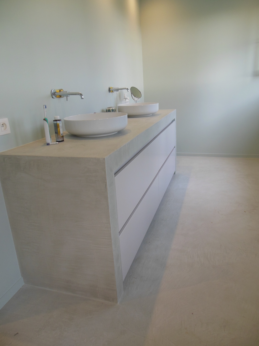 Mortex Badkamersmano Interieurs In Mortex Mano