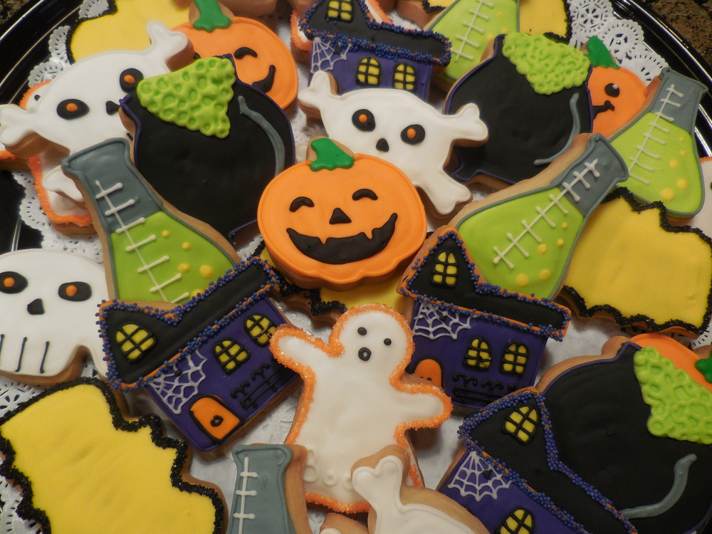 Halloween Custom Cookies