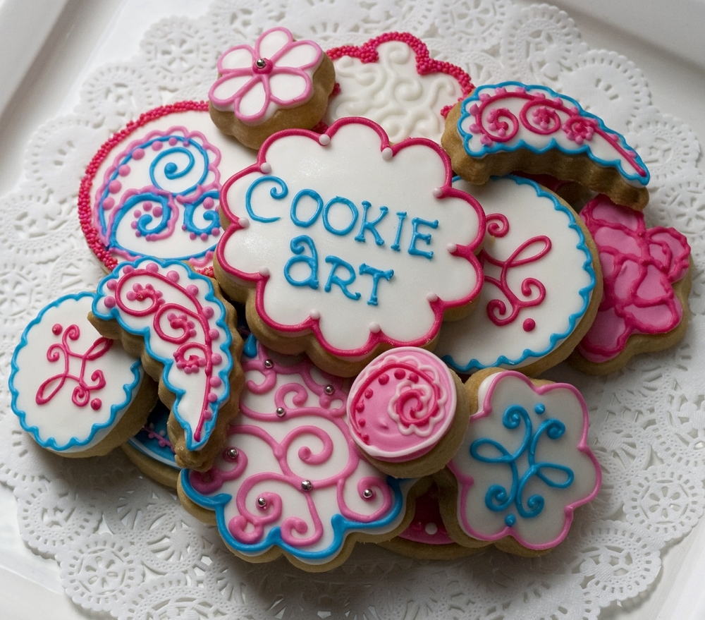 Cookie Art Signature Custom Cookies