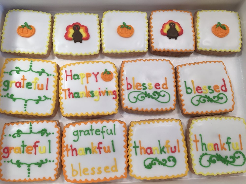 Thanksgiving Custom Cookies