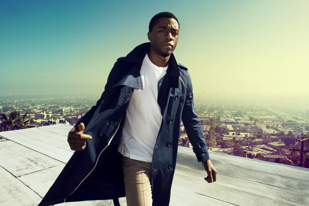 ACTOR CHADWICK BOSEMAN FOR FLAUNT MAGAZINE