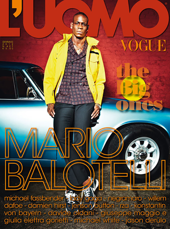 MARIO BALOTELLI FOR L'UOMO VOGUE