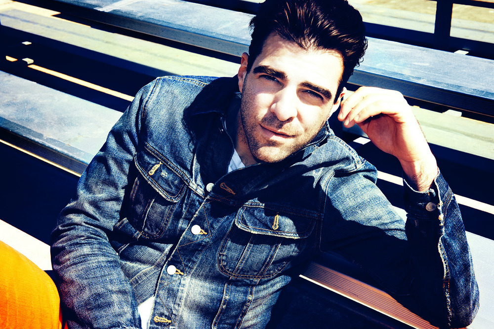 ZACHARY QUINTO FOR BRITISH GQ