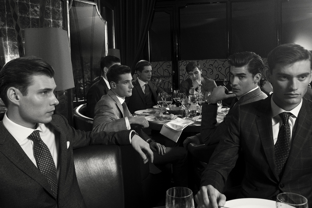 MEN OF MAYFAIR FOR GQ STYLE UK