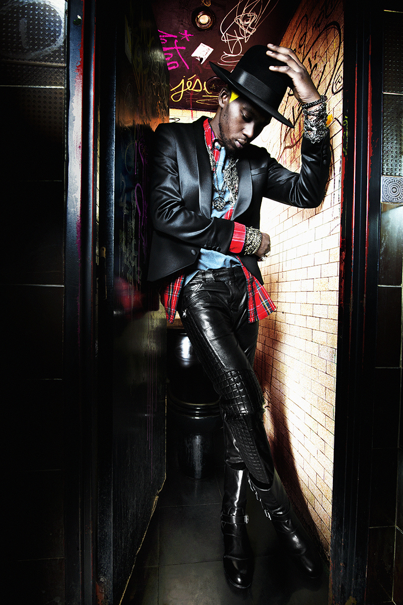 THEOPHILIUS LONDON FOR L'UOMO VOGUE