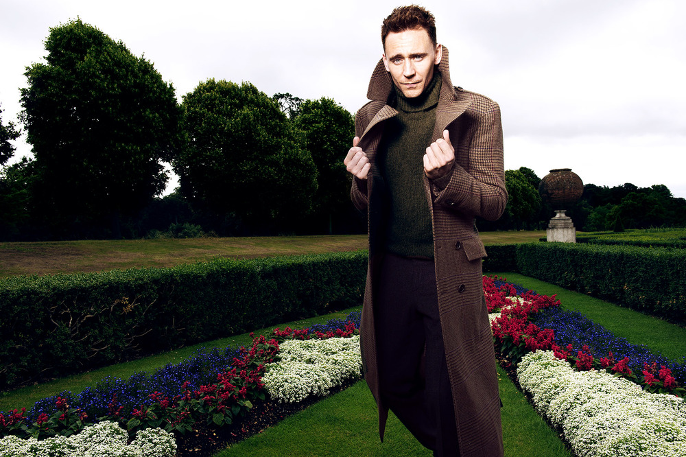 TOM HIDDLESTON FOR BRITISH GQ