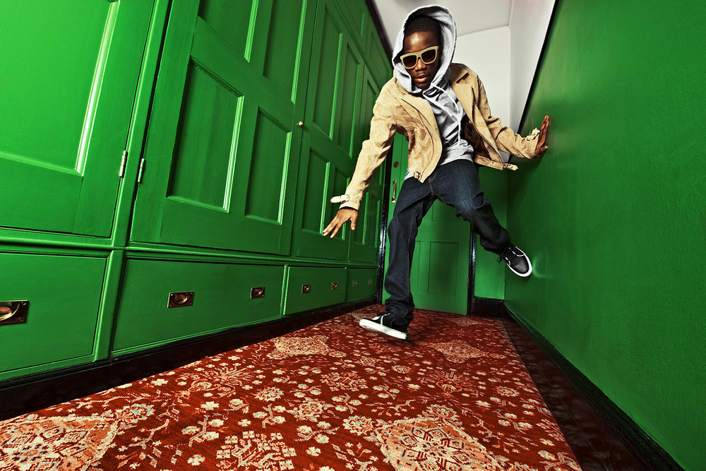 TINCHY STRYDER FOR L'UOMO VOGUE AFRICA SPECIAL