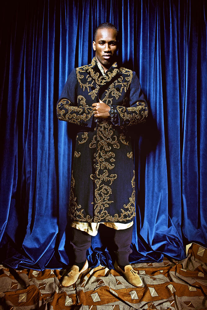 DIDIER DROGBA FOR L'UOMO VOGUE AFRICA SPECIAL
