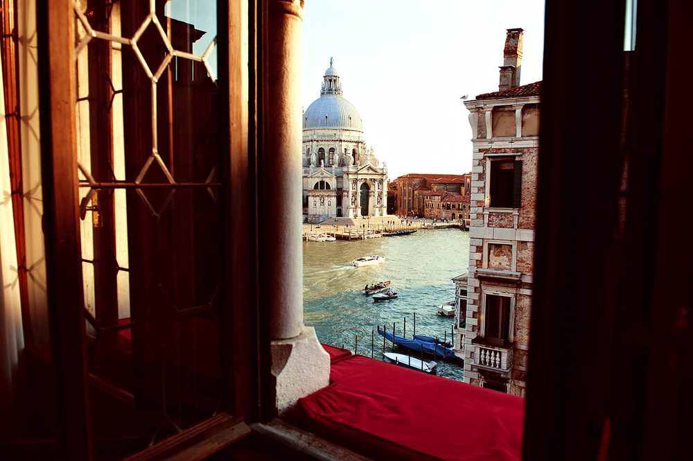 A VIEW OF VENICE FROM THE BAUER HOTEL