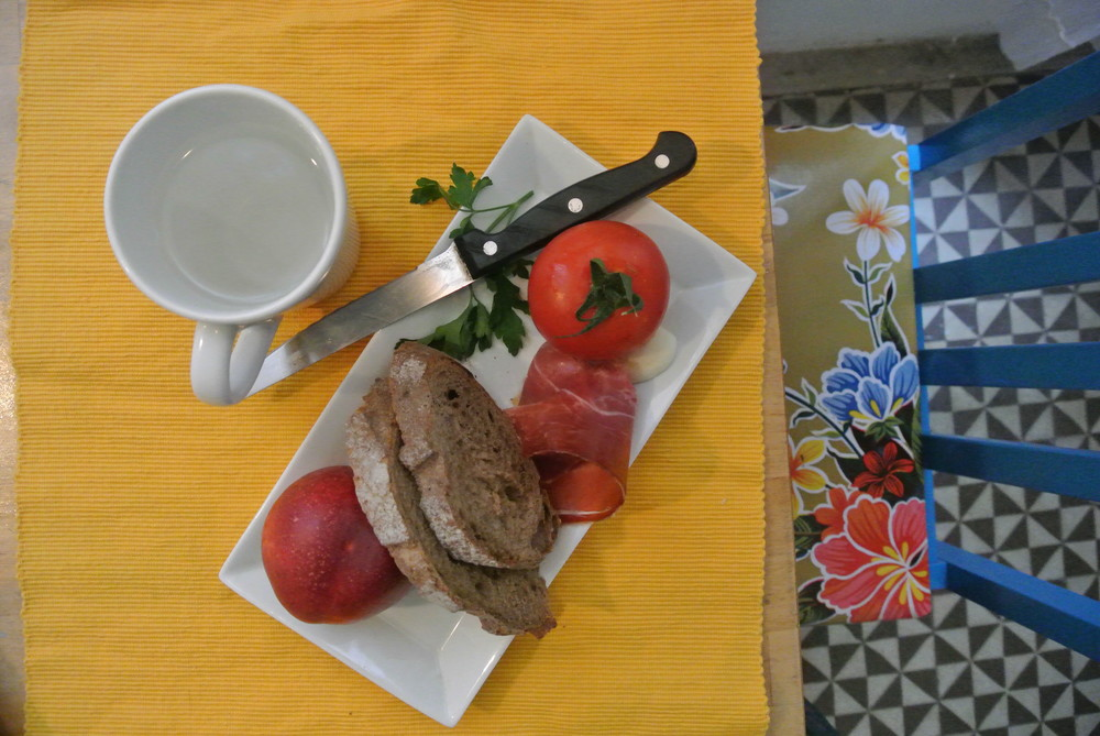 Frukost på katalanska.