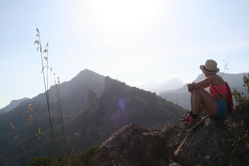 """Att vandra på Mallorcas """"ryggrad"""", bergen Tratamuntana, är krävande men väldigt vackert."""