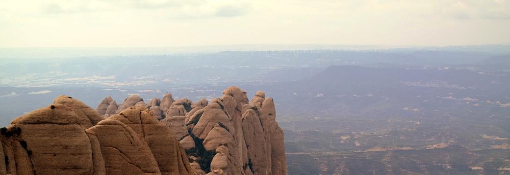 Lite utsikt ska ni väl få ikväll ändå. Här från Montserrat.