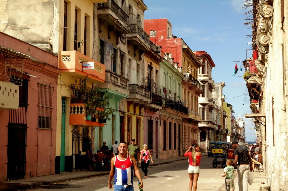 Vardagsliv på Havannas gator.