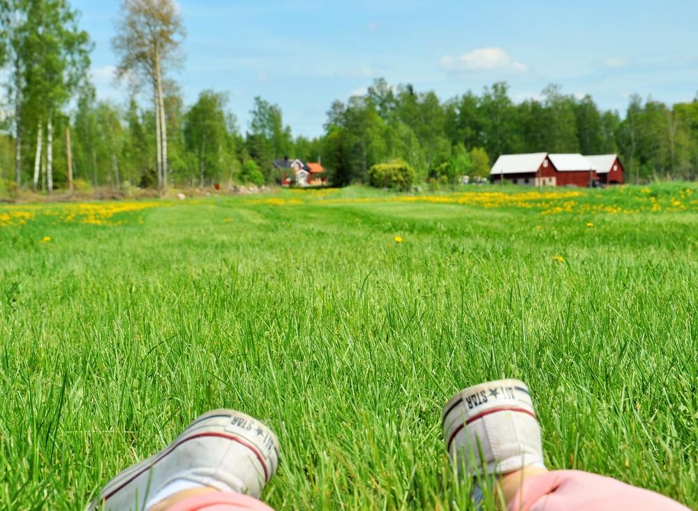 Fjugesta utanför Örebro är en sommardröm.
