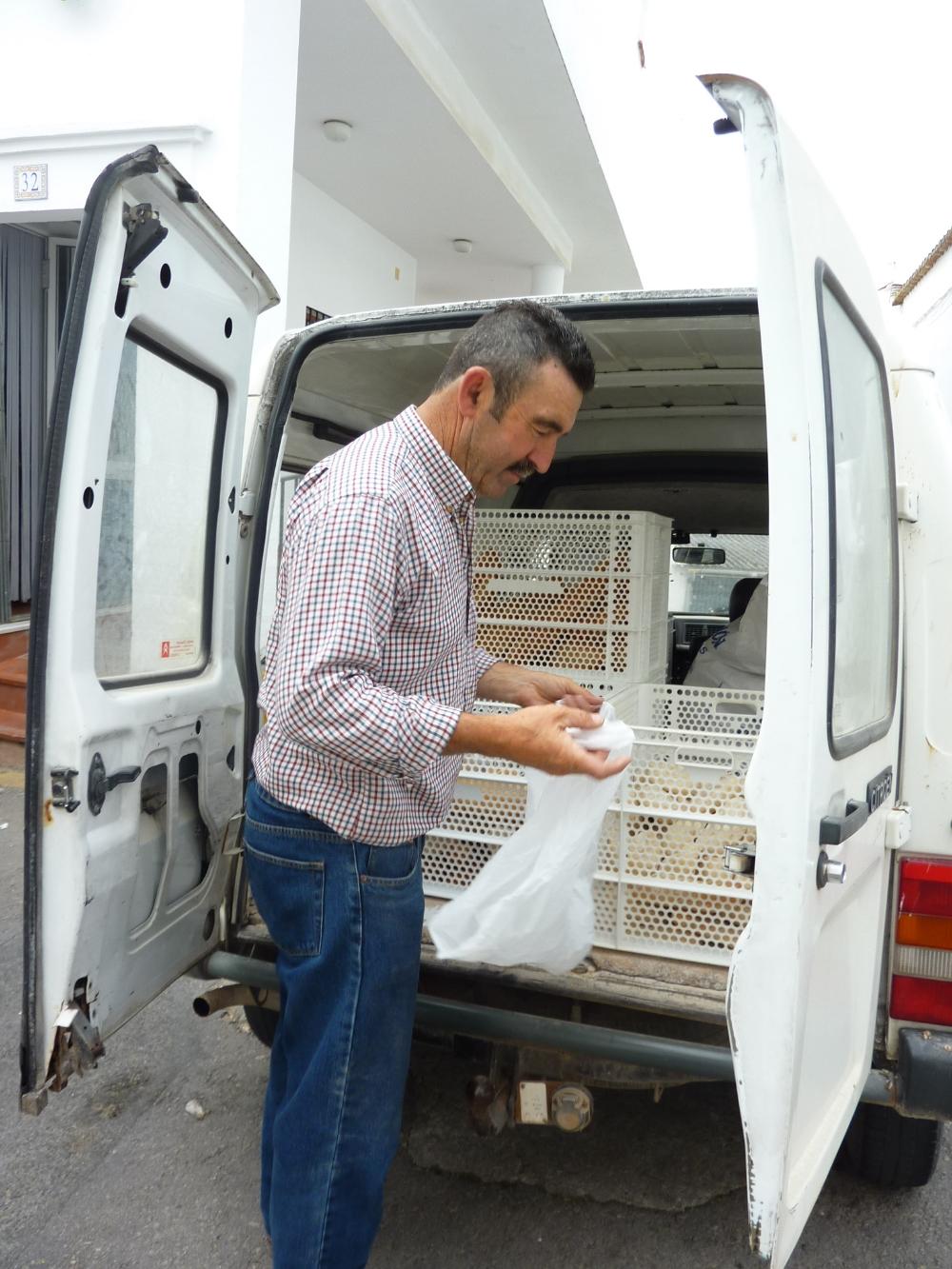 Juan och hans brödbil