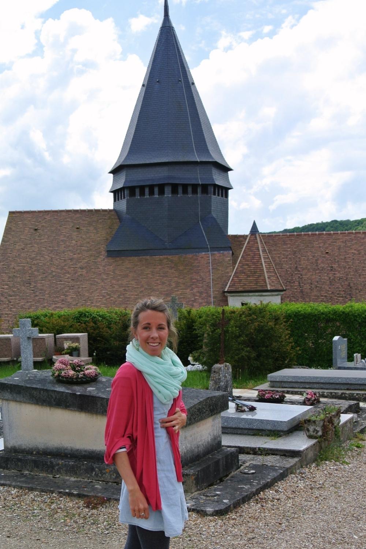 Kyrkogården i Giverny