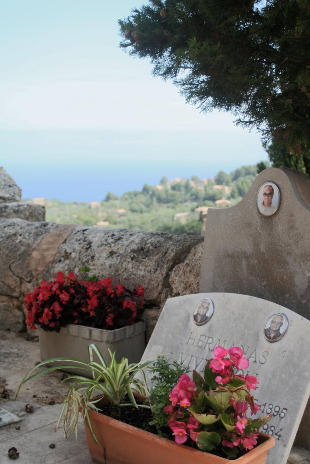 Kyrkogården i Valldemossa