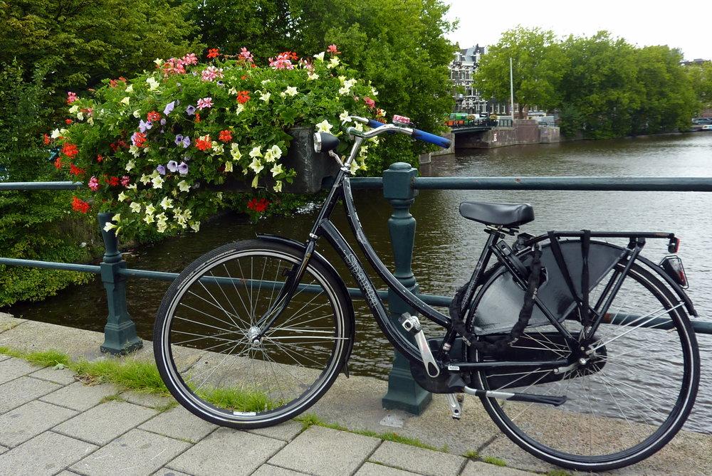 Att cykla i Amsterdam är det snabbaste, roligaste och vanligaste sättet att lära känna staden.