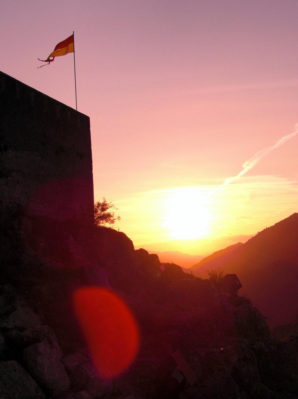 Sagolika solnedgångar platsar förstås i en sagolik story.