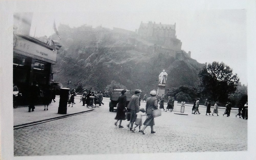 Edinburgh, 1951. Foto: Kerstin Svanberg