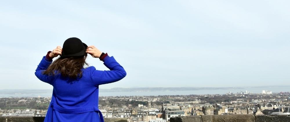 Utsikt från Edinburghs slott
