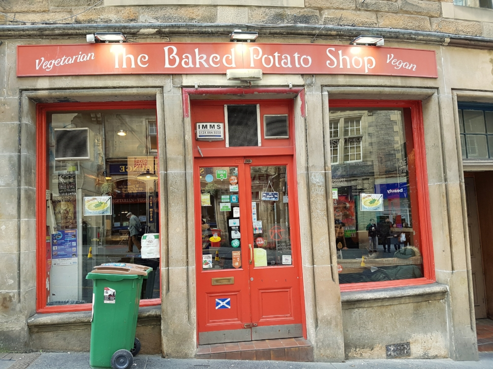 The Baked Potatoe Shop i Edinburgh