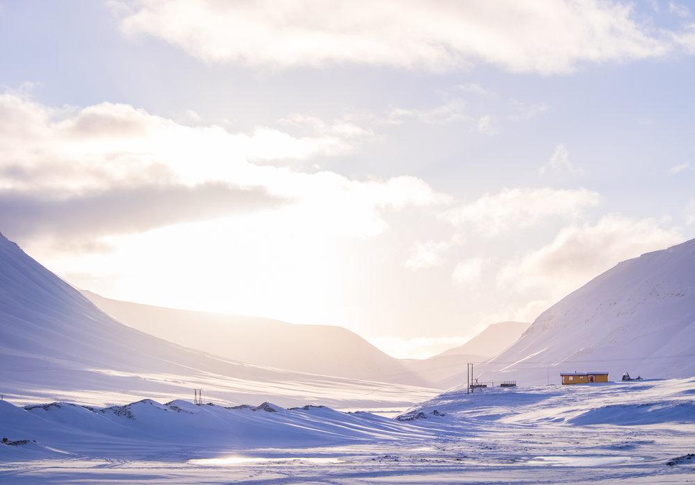 Svalbard. Foto:  Sofia Zetterqvist